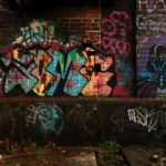 Graffiti, Sheffield - photo by Steve Withington