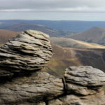 Kinder Scout, Peak District photograph by Steve Withington